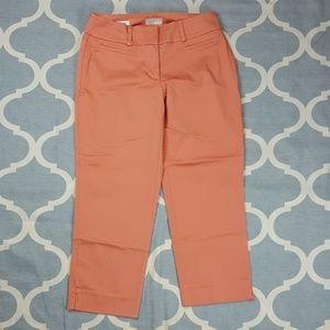 LOFT outlet curvy crop capri pants Sz 2